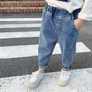 男女童寬鬆牛仔褲2020春秋裝新款女寶寶蘿蔔褲洋氣垮褲老爹褲子潮