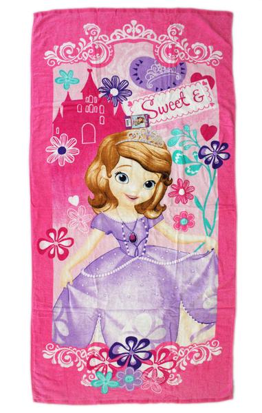 【卡漫城】 蘇菲亞 大浴巾 ㊣版 小公主 Sofia 毛巾 浴巾 海灘巾 洗澡 泡湯 迪士尼 游泳 小涼被 嬰兒