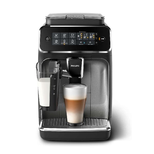 飛利浦LatteGo全自動義式咖啡機EP3246 送價值13000元9組湛盧咖啡豆兌換序號(27包200g or 378包 10g)