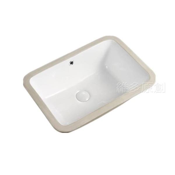 洗衣槽 陶瓷洗衣台下盆嵌入式衛生間洗臉洗手盆陽台超深水槽超大洗衣水池 DF 維多原創