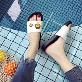 涼拖鞋女夏室內洗澡居家用情侶防滑厚底浴室兒童可愛個性拖鞋
