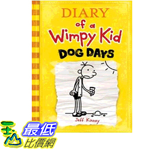 2019 美國得獎書籍 Dog Days (Diary of a Wimpy Kid, Book 4)