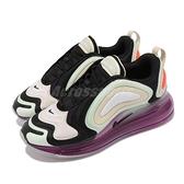 Nike 休閒鞋 Wmns Air Max 720 黑 綠 撞色 女鞋 大氣墊 厚底 【ACS】 CI3868-001