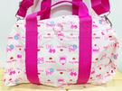 【震撼精品百貨】凱蒂貓_Hello Kitty~日本SANRIO三麗鷗 KITTY 手提包/側背包/斜背包-尼龍蛋糕#89100