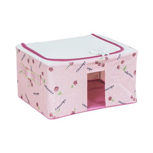 多功能收納箱 小物衣服整理箱 牛津折疊鐵架收納箱 11L