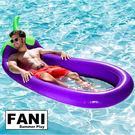 ◇方妮FaNi◇歐美火紅【茄子游泳圈飄浮床】造型漂浮板水果浮板水上充氣泳圈充氣床海灘沙灘