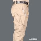 軍霆戶外軍迷工裝褲男IX7寬鬆執政官春夏迷彩特種兵戰術長褲薄款 金曼麗莎