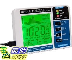 [7美國直購] 二氧化碳監測儀 Hydrofarm Autopilot Desktop CO2 Monitor & Data Logger