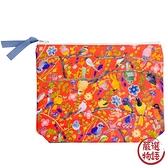 【日本製】【ECOUTE!】布質萬用包 小鳥圖案 SD-3799 - ecoute!