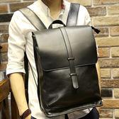 復古男雙肩書包 韓版後背包《印象精品》y483