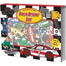 【拼圖遊戲盒】LETS PRETEND:  RACE DRIVER SET