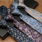 8CM領帶男正裝商務休閑職業裝工作學生花紋英倫手打款 交換禮物