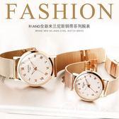 時尚潮流韓版簡約時裝手表女表防水休閑大氣學生夜光男表非機械表