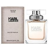 Karl Lagerfeld 卡爾·拉格斐 同名女性淡香精 85ml-Tester包裝