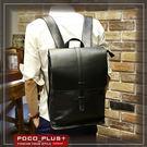 PocoPlus 韓版雙肩時尚背包 學院風 潮流包背 商務包 後背包  【B628】