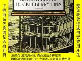 二手書博民逛書店英文原版:Adventures罕見of Huckleberry FinnY367822 Mark Twain