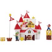 super mario超級瑪利歐 任天堂 2.5吋 豪華蘑菇王國城堡 玩具反斗城