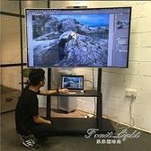 電視壁掛架 液晶電視機可行動推車顯示器萬能通用架子立式掛架 果果輕時尚NMS