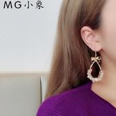 MG 耳墜-韓版簡約百搭個性耳環