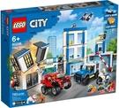 樂高LEGO CITY 警察局 6024...