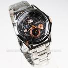 SEIKO 精工錶 Premier 動能錶 萬年曆 黑面 41mm 男錶 SNP062J1 7D48-0AL0K 防水手錶
