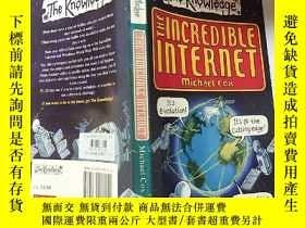 二手書博民逛書店the罕見incredible internet:不可思議 的互聯網:Y200392