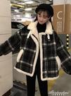 冬季2020新款韓版加厚保暖呢子大衣寬鬆女休閒百搭長袖毛呢短外套 黛尼時尚精品