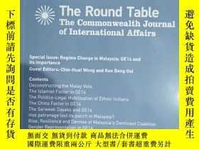 二手書博民逛書店the罕見round table The Commonwealth journal of internationa