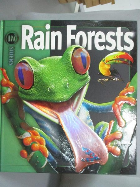 【書寶二手書T1/動植物_NLV】Rain Forests_Vogt, Richard C.
