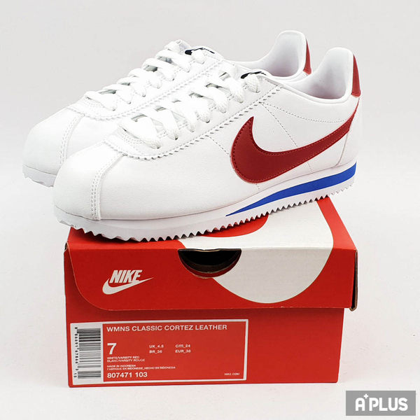 NIKE 女 WMNS CLASSIC CORTEZ LEATHER 經典復古鞋 - 807471103