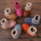 (尾牙交換禮物)創意 寶寶棉鞋0-1歲嬰兒不掉鞋襪加絨步前軟底新生學步秋冬季6-12個月