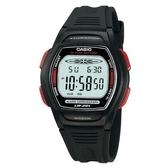 【CASIO】精緻時間電子腕錶-紅框(LW-201-4A)
