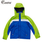 ADISI 童單件式可拆帽防水透氣外套A...