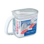 日本ASVEL FORMA單格調味盒690ml / 廚房收納 料理烘培 密封保鮮 調味瓶 調味罐 鹽巴味精砂糖