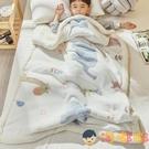 兒童毛毯加厚羊羔絨小被子午睡寶寶嬰兒珊瑚絨毯子【淘嘟嘟】