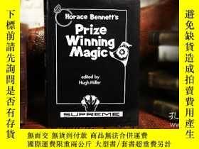 二手書博民逛書店vHorace罕見Bennett s Prize Winning Magic (Limited Out of Pr