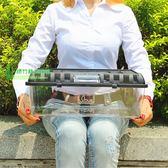魚龜缸 亞克力缸龜缸 高檔塑料龜缸 龜缸 大型 烏龜缸帶曬台 城市科技DF