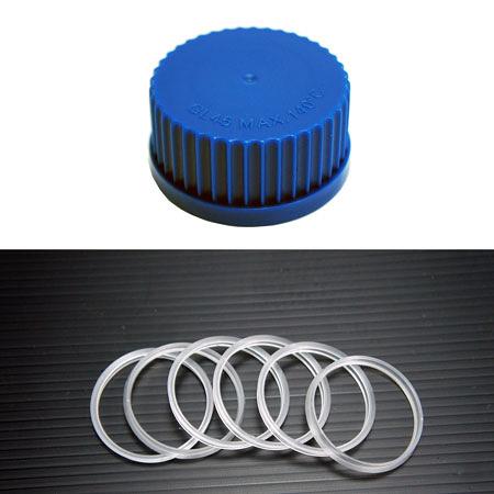 《DGS》廣口血清瓶蓋環 GL45 Cap, Screwthread, GL-45