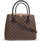 Louis Vuitton LV N41435 Kensington 棋盤格紋兩用購物包 全新 預購