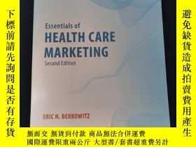 二手書博民逛書店Essentials罕見of Health Care Marketing《保健品營銷》Y312250 ERIC