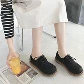 娃娃鞋韓國ulzzang日繫軟妹小皮鞋原宿學院風大頭娃娃鞋復古厚底女單鞋 【低價爆款】