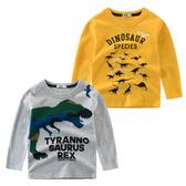 恐龍印花 薄長袖上衣 大童 恐龍 薄長袖 橘魔法 Baby magic 現貨 童裝 男童