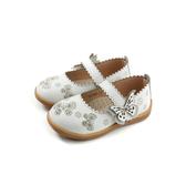 小女生鞋 娃娃鞋 童鞋 白色 中童 32785 no153