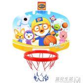 籃球架免打孔室內掛式家用投籃框可升降3歲籃板男孩玩具 WD 遇見生活