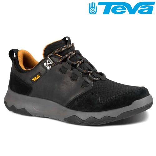 TEVA 超輕量科技大底低筒防水健走登山鞋ARROWOOD WP - 黑