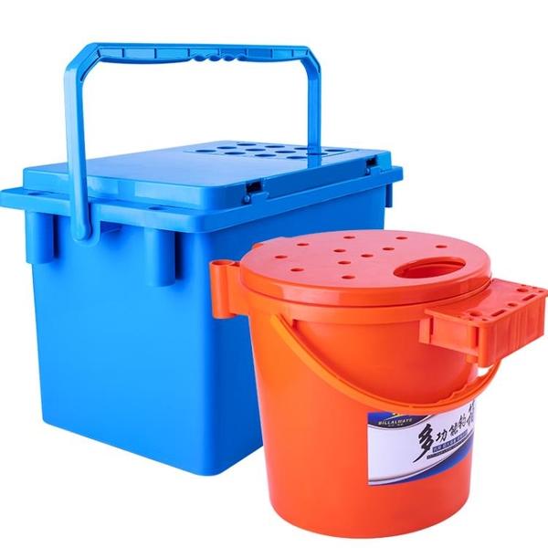 比爾傲威多功能釣魚桶加厚可坐釣魚水桶釣箱釣凳釣椅釣桶魚護桶 「店長熱推」
