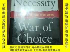 二手書博民逛書店War罕見of Necessity, War of Choice