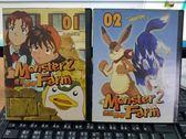 挖寶二手片-B05-054-正版VCD-動畫【怪獸農場2 01-02】-套裝 日語發音