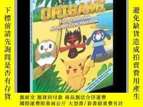 二手書博民逛書店Pokémon罕見Origami: Fold Your Own Alola Region PokémonY41