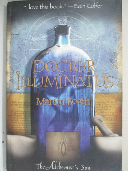 【書寶二手書T3/原文小說_C8Q】Doctor Illuminatus_Martin Booth